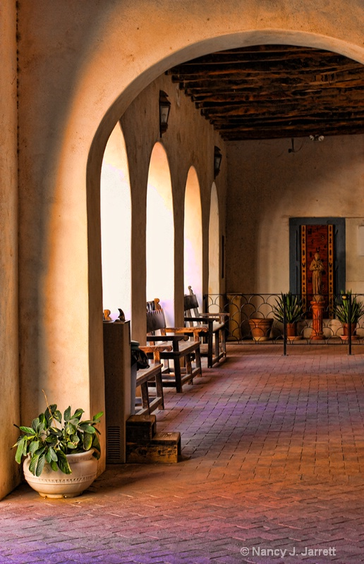 Taken in Tucson, Arizona at Mission San Xavier del