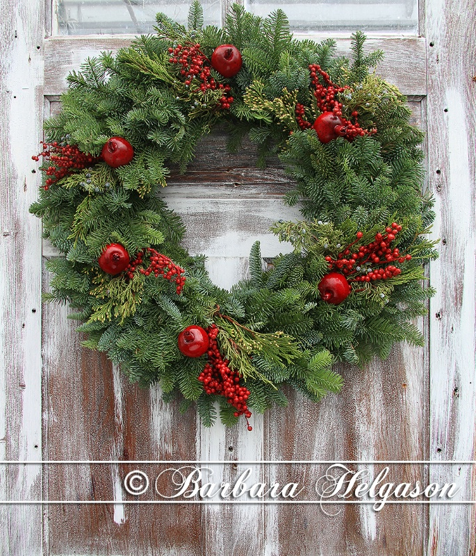 A rustic holiday