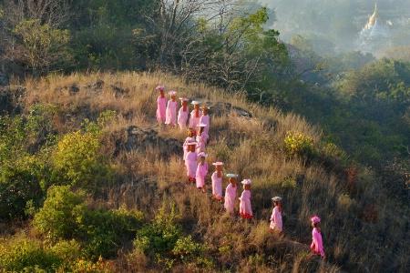 Nuns of  Myanmar.