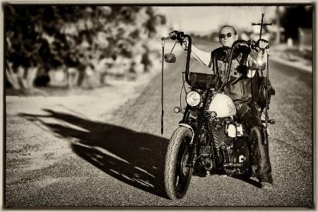 Mike's tribute bike