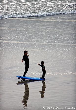 Father & Son Hang Ten Lesson