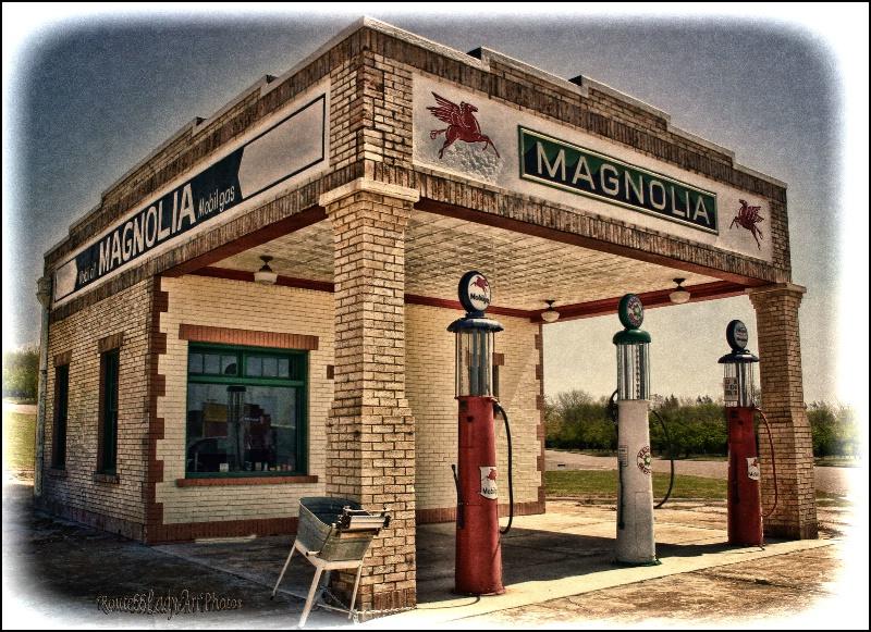 Magnolia Station - ID: 13564671 © JudyAnn Rector