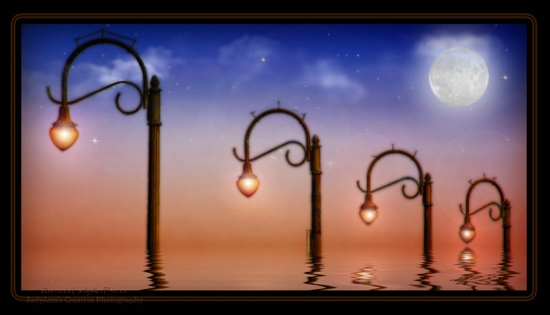 Lamp Posts - ID: 13567622 © JudyAnn Rector