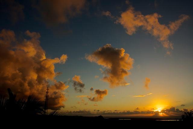 Sunrise on the Veranda
