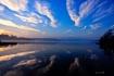 Fog & Sunset I