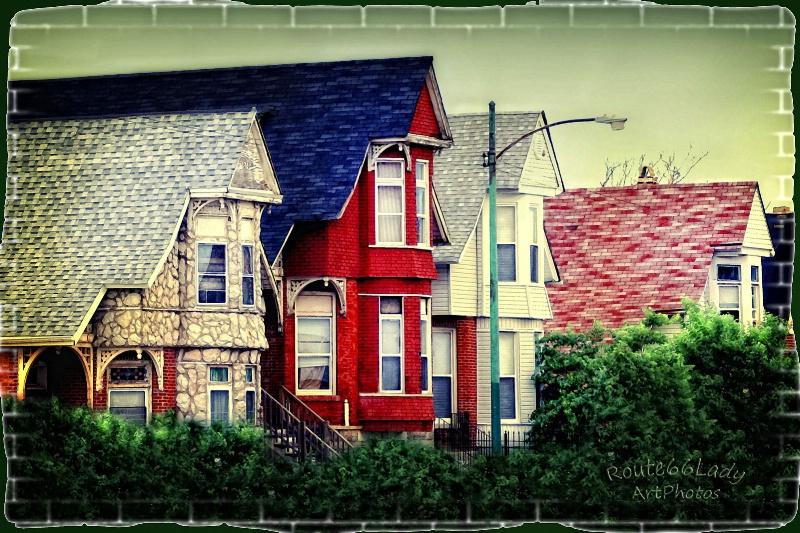 Berwyn Neighborhood - ID: 13600506 © JudyAnn Rector