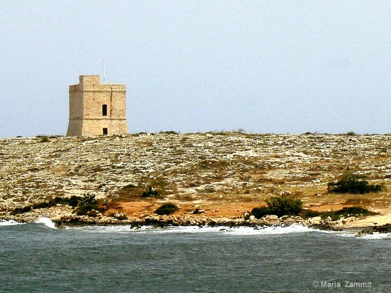 Rough seas at Baħar iċ-Ċagħaq,