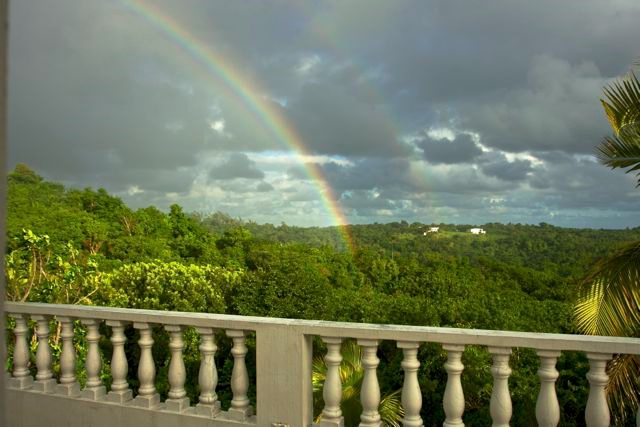Double Rainbow in Vieques