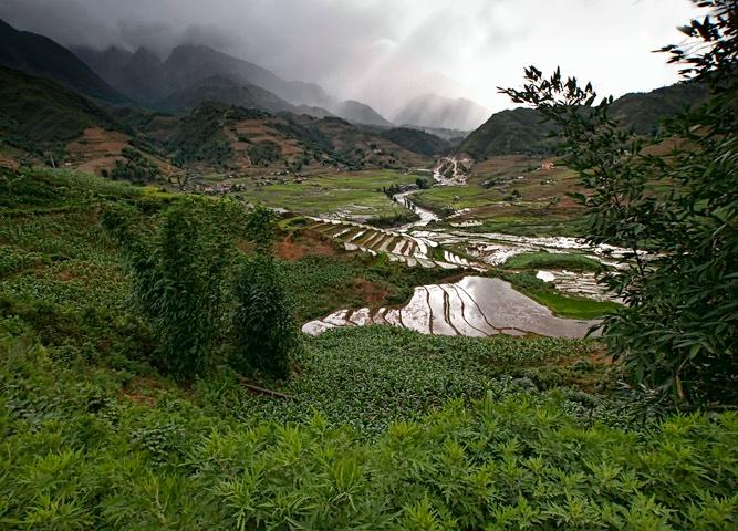 Rain Over Zapa - ID: 13612379 © Viveca Venegas