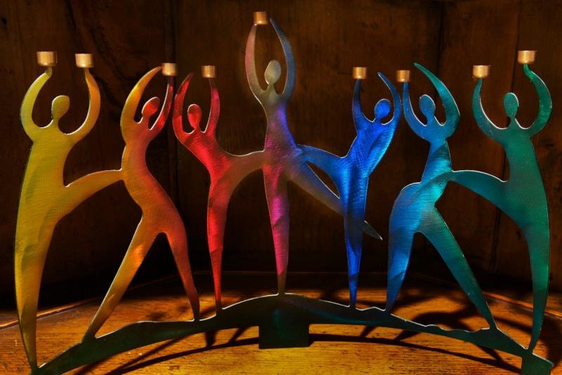 Hanukkah Dancers II