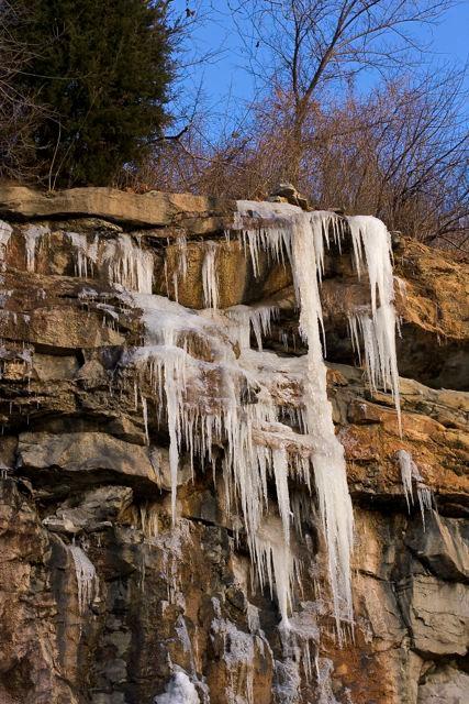 Ice in the Quarry