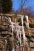 Ice in the Quarry...