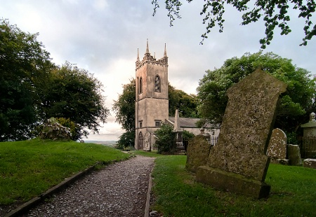 Church on The Hill of Tara, Ireland