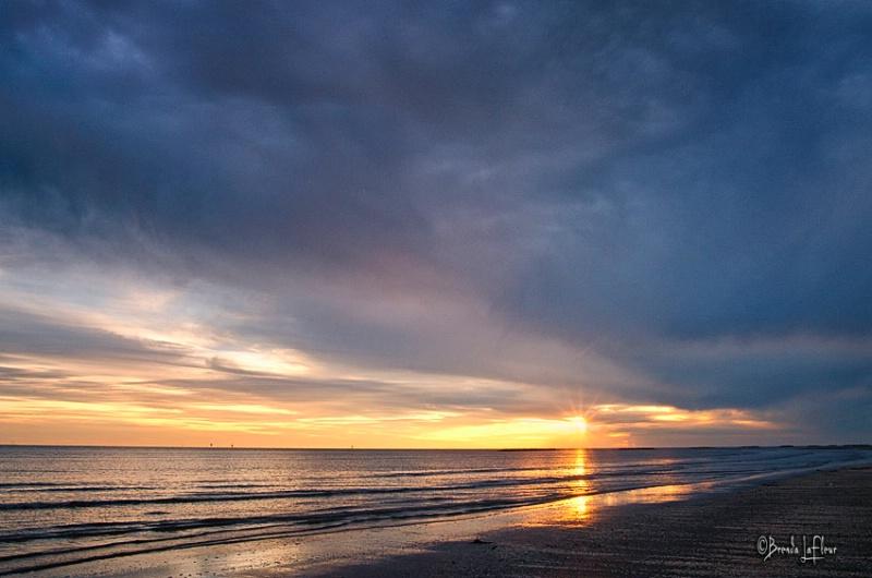 Louisiana Gulf Sunset