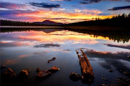 Dogtown Reservoir Sunset