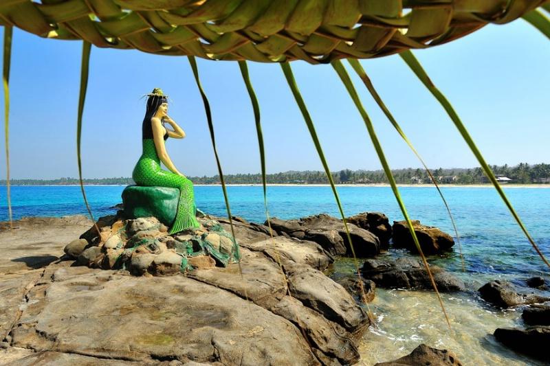 Ngwe saung beach in Myanmar