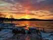 Sunset at Echo Ba...