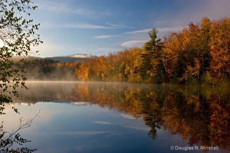 Fall Color Reservoir - ID: 13631634 © Douglas R. Minshell