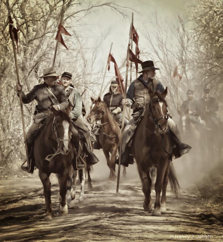 civil war battle re-enactment 120 pe pe