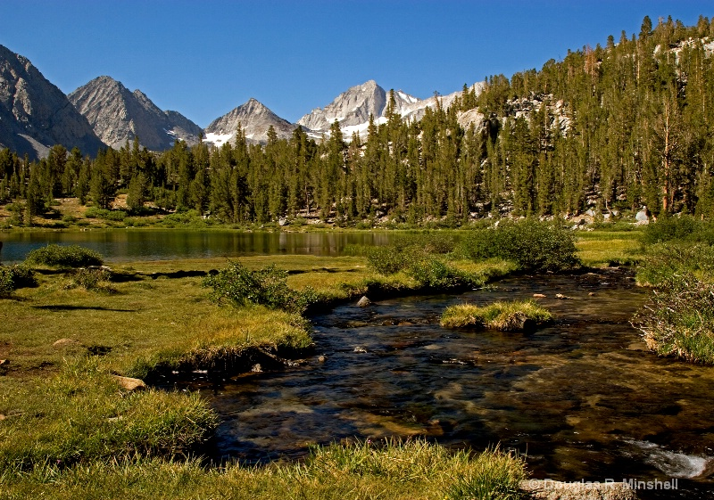 Creek into Heart Lake - ID: 13640986 © Douglas R. Minshell