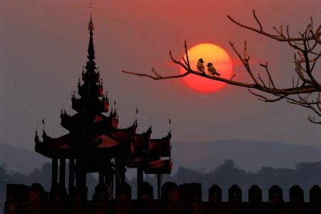 Mandalay dawn.