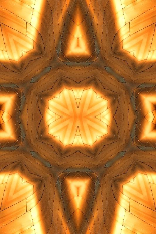 Golden Abstract #5 - ID: 13654956 © Don Johnson