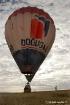 hot air balloon i...