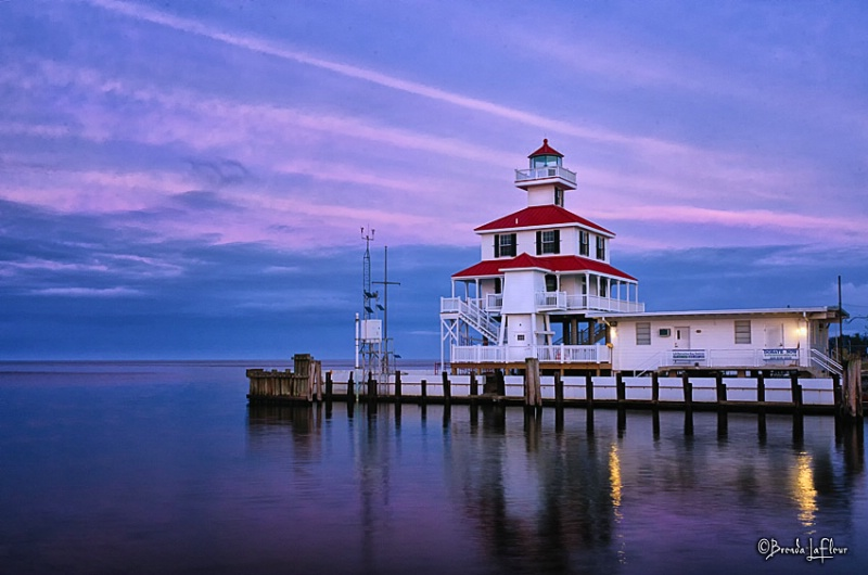 New Canal Lighthouse - New Orleans