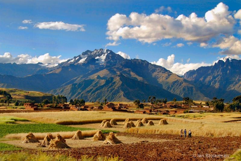 Peruvian scene