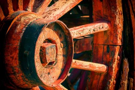 20 Mule Wagon Wheel