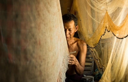 fishing-net maker