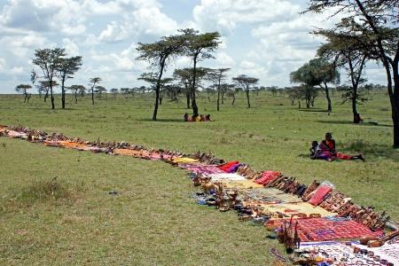 Masai Tribe Market