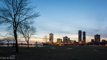 Milwaukee Skyline at 200 ISO and 10sec