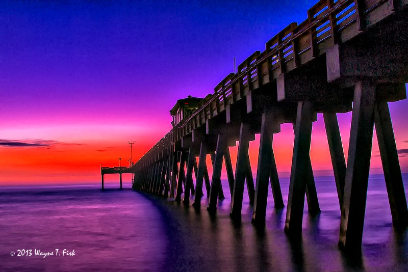 Hot Twilight at Venice Pier