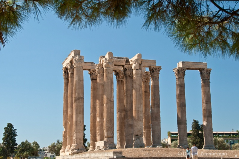On the Fringe of the Temple of Zeus   - ID: 13679525 © Deborah H. Zimmerman