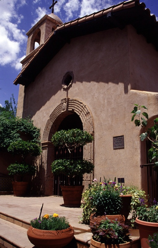Building at Tlaquepaque, Sedona, AZ