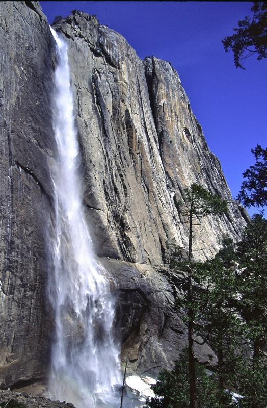 Yosemite Falls from Yosemite Falls Trail
