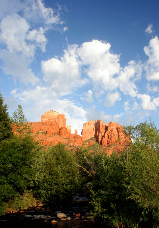 Cathedral Rocks, Red Rock Crossing, Sedona