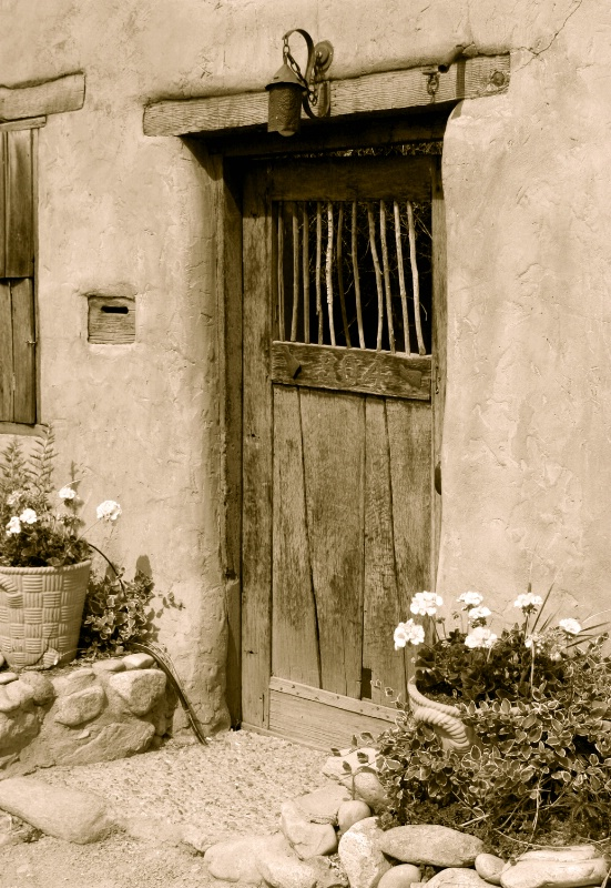 Santa Fe Doorway, NM