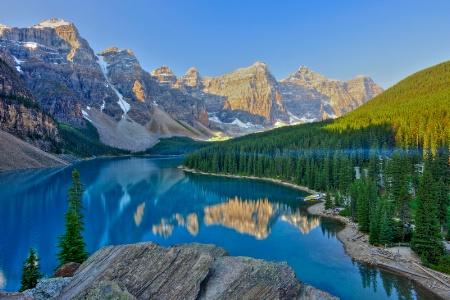 Morain Lake Dawn
