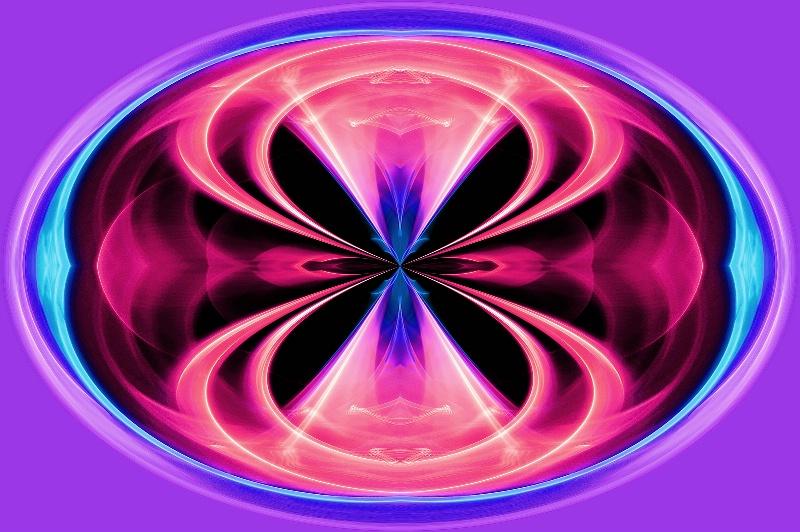 Seattle Light Abstract -- Kaleidoscope + PC - ID: 13688593 © Don Johnson