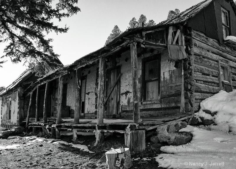 Abandoned Taos Cabin