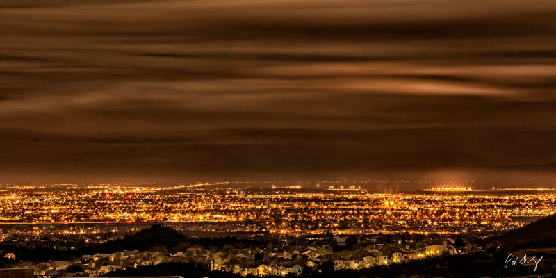 A Night View of Tucson