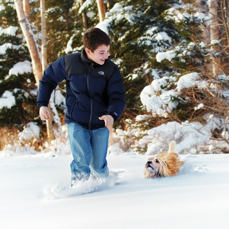 The Boy & His Dog