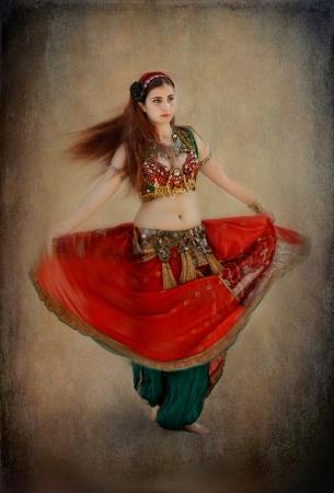 Carnivale Dancing  Girl