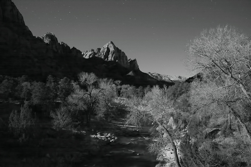 Watchman at night