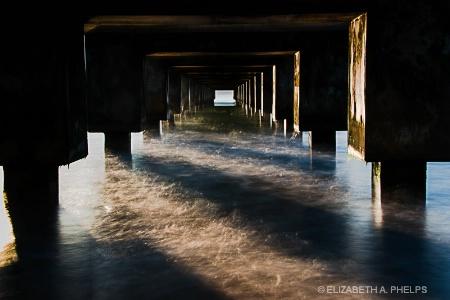 Under The Hanalei Pier