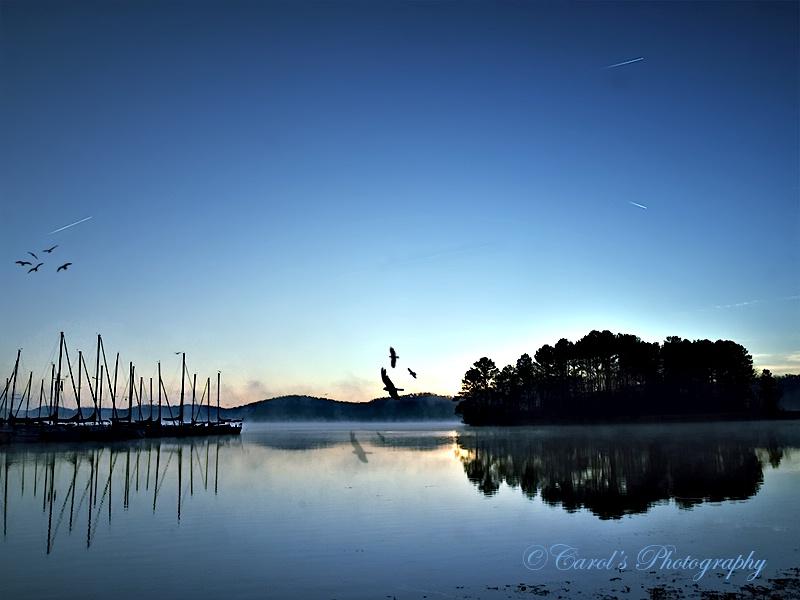 Daybreak at the Lake