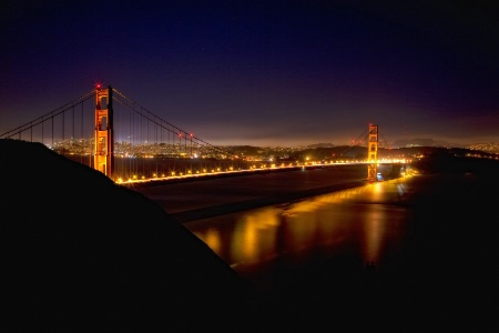 Golden Gate at Twilight