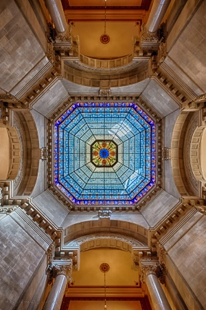 Indiana State Capitol Dome Interior